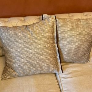 Set of Two Hotel Collection 26x26 Pillow Cases